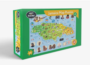 JAMAICA MAP PUZZLE