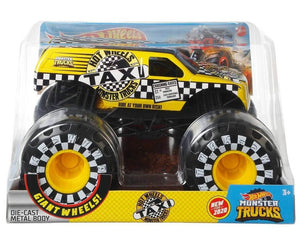 HOT WHEELS MONSTER TRUCKS - TAXI - 1:24 SCALE