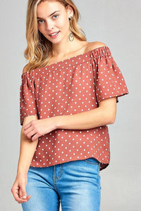 Lynn Off Shoulder Top