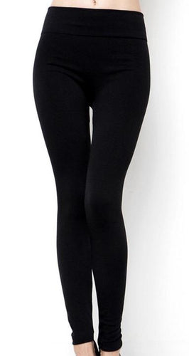Fleece Plus Size Leggings