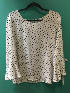 Eileen Polka Dot Top