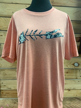 Carleton Peach Wildflower Tee