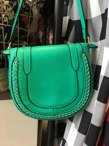 Turquoise Crossbody Purse