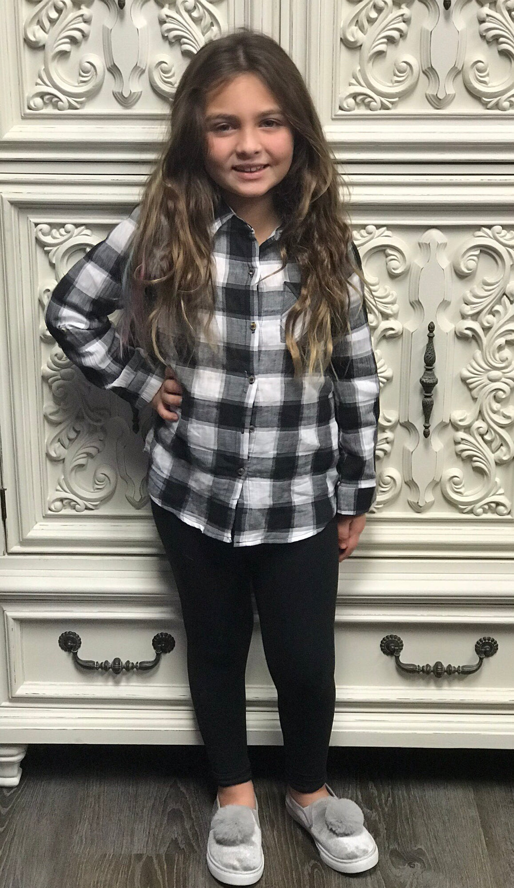 Girls Flannel