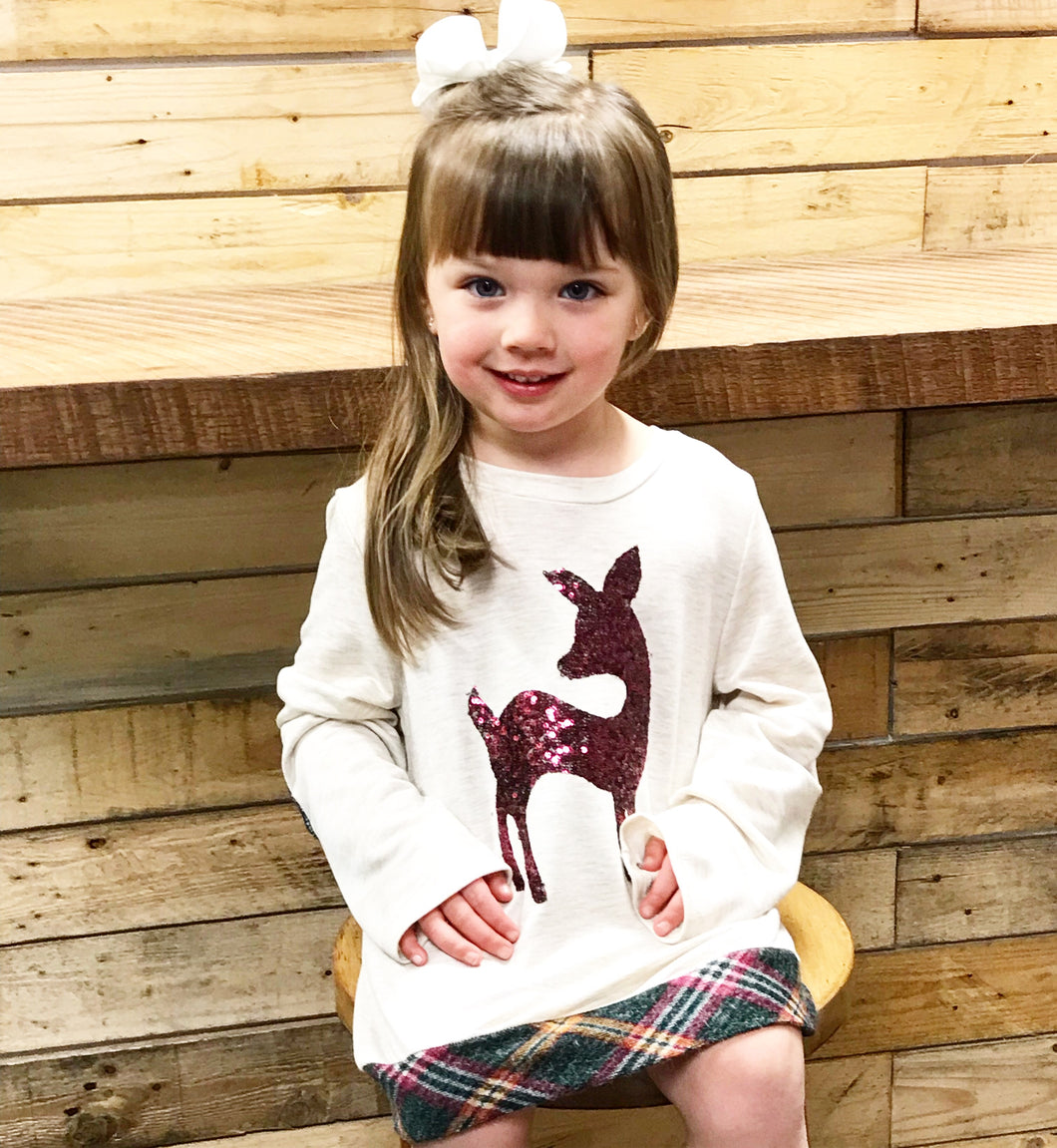 Kids Reindeer Shirt