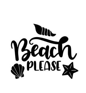 Beach Please Tee Shirt
