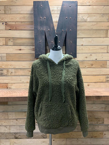 Stephanie Hooded Sherpa