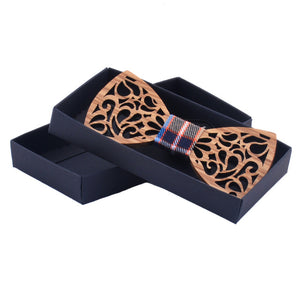 Wood Bow Tie For Men