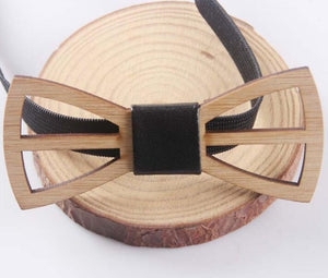 Mens Wooden Bow Tie