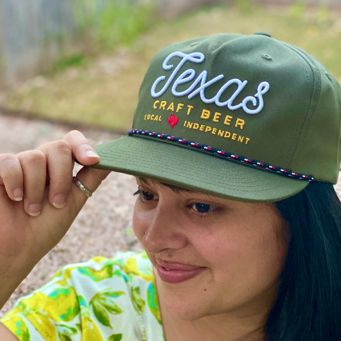 Texas Craft Beer Rope Cap