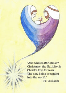 "Love Nativity, ""And What is Christmas?"""