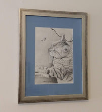 Just Chillin', Original-- Special Merit Award Winner 2019 Comes Framed and Matted