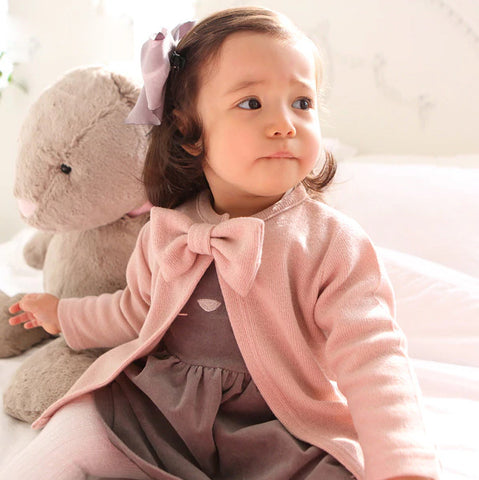 Autumn Girls Jackets With Feature Bow