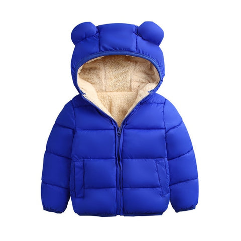 Unisex Teddy Ear Puffa Jacket