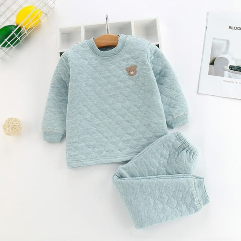 Quilted Unisex Winter Tracksuit Set