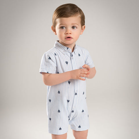 One Piece Boys Summer Stripe