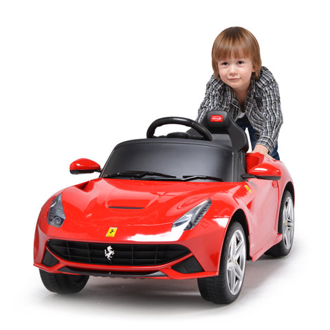 """Mini Me"" Children's Electric Ride On Farrari Car with Remote Controller & LED Lights"