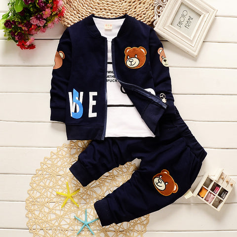 Moschino Inspired Teddy Tracksuit