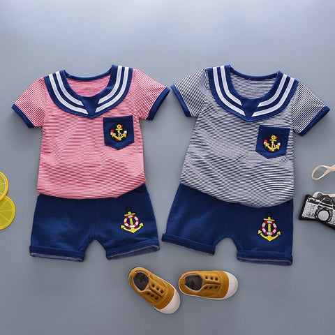 Unisex Sailor Twinset