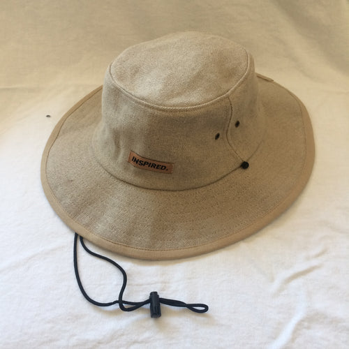 Inspired Movement Hemp Bucket Hat w/strap