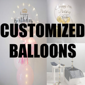customised balloons | PartyMonster.ae | Dubai