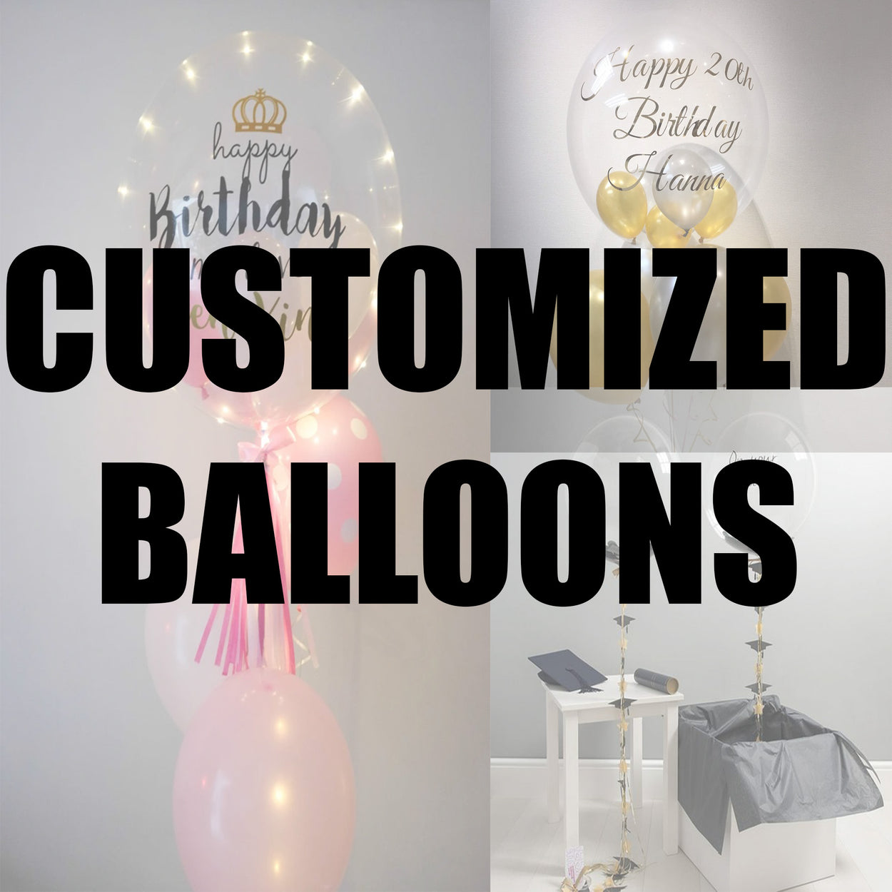 Customised Balloons