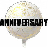 Anniversary balloons and party supplies in Dubai
