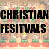 Christian festivals balloons and party supplies in Dubai