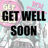 get well soon balloons and party supplies in Dubai