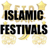 Islamic Festivals balloons and party supplies in Dubai