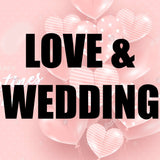 love and wedding balloons and party supplies in Dubai