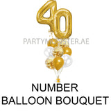 number balloon bouquets in Dubai