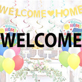 welcome balloons and party supplies