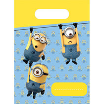 Minion Party Favour Bags 6pcs - PartyMonster.ae