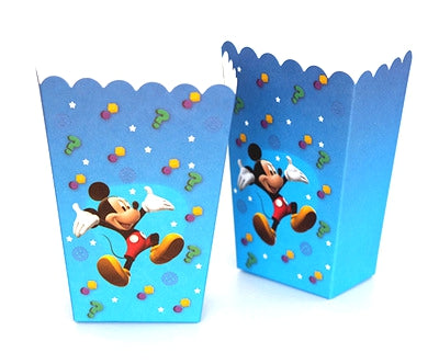 Popcorn Boxes Mickey Mouse themed for sale online in Dubai