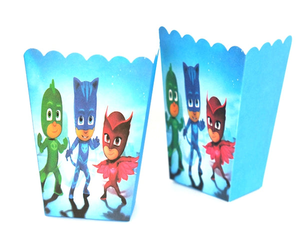 Popcorn boxes PJ Masks themed for sale online in Dubai