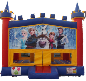 Frozen Bouncy Castle - 4.8m - PartyMonster.ae