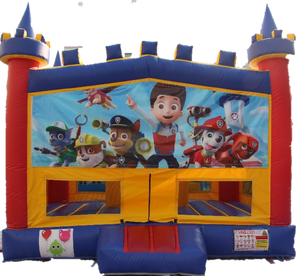 Paw Patrol Bouncy Castle - 4.8m - PartyMonster.ae