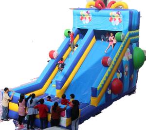 Celebration Inflatable Slide - 8 - PartyMonster.ae