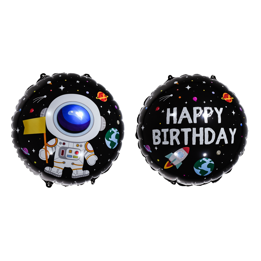 Astronaut themed birthday balloons for sale online in Dubai