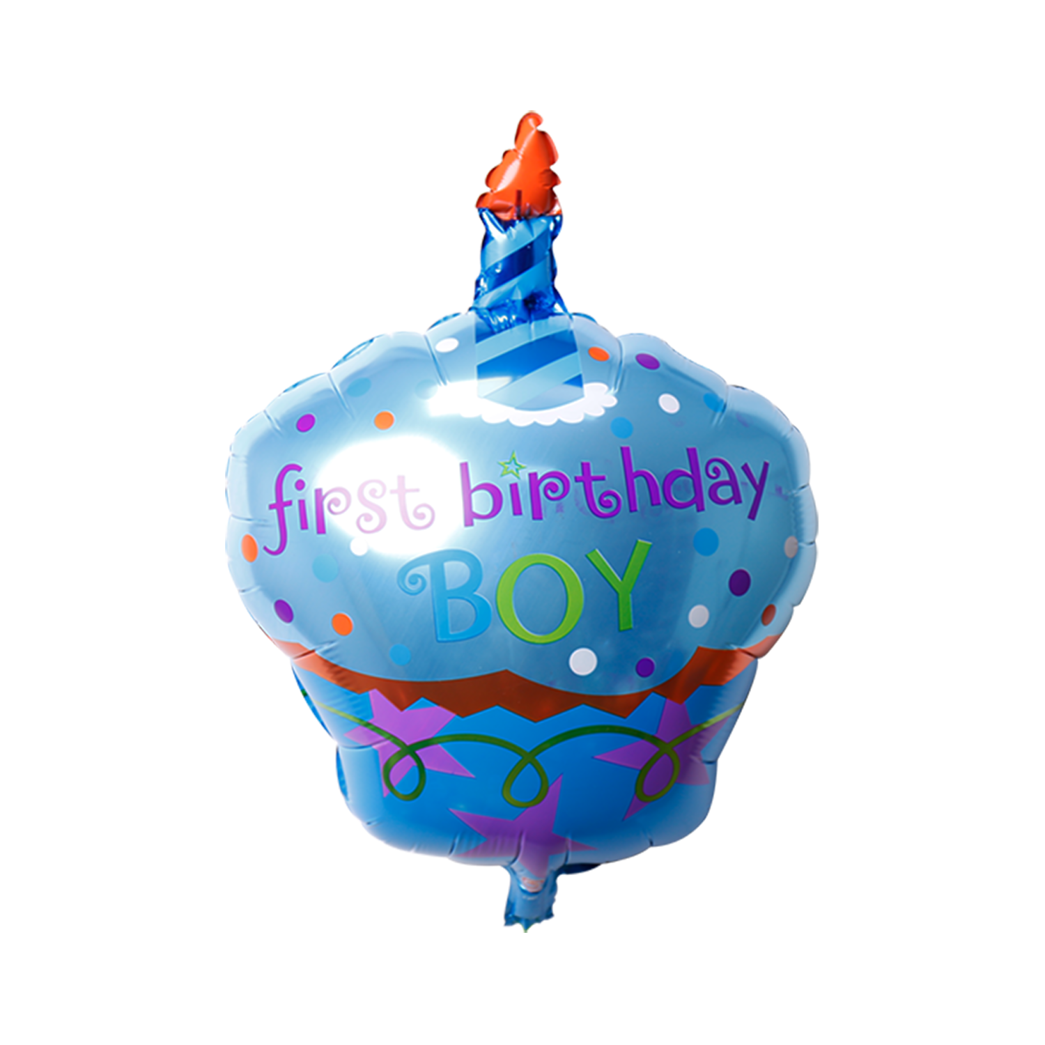 First Birthday Boy Cupcake balloons delivery in Dubai