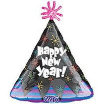 Happy New Year Balloon 18inches - PartyMonster.ae