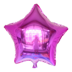 "Purple Color Star Shaped Balloon - 18"" - PartyMonster.ae"
