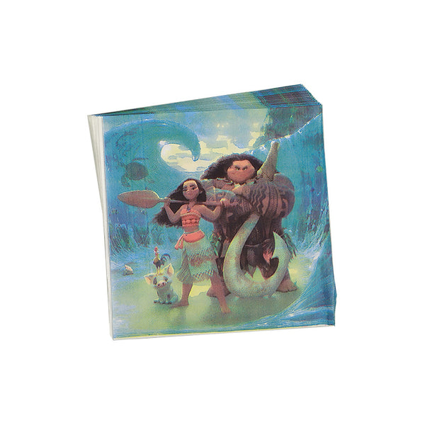 Tissue napkins Moana themed for sale online in Dubai