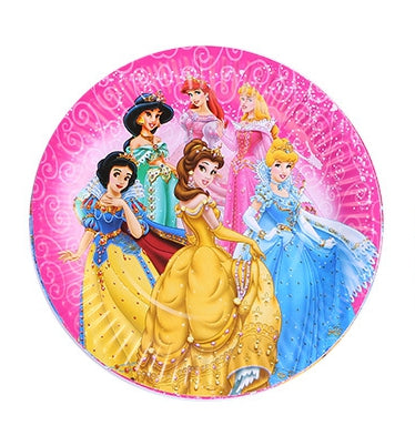 Paper plates  Princesses themed for sale online in Dubai