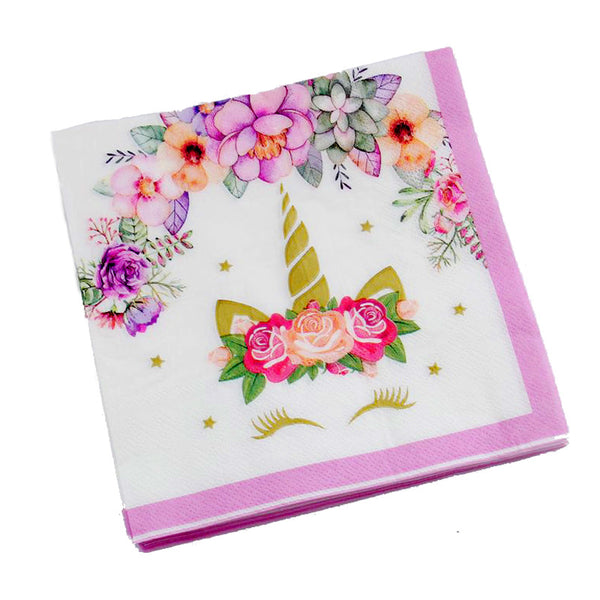 tissue napkins Unicorn themed for sale online in Dubai