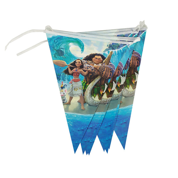 Flag banner bunting Moana themed for sale online in Dubai