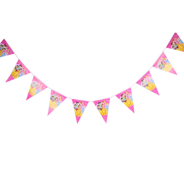 Flag banner bunting  Princesses themed for sale online in Dubai