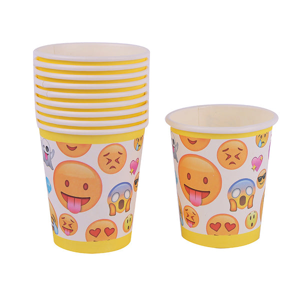 Paper cups Emoji themed for sale online in Dubai