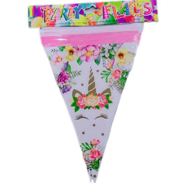 Flag banner bunting Unicorn themed for sale online in Dubai